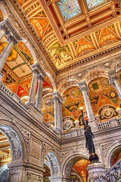 The Library of Congress is the largest library in the world, with millions of books, recordings, photos, maps and manuscripts in our collections (Washington, DC)