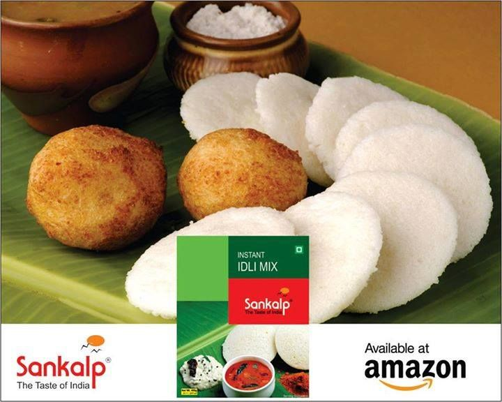 Order Online Instant Idli Mix at #Amazon and Enjoy the taste of Sankalp's authentic taste at you home.. #IdliMix #Amazon #Sankalp #SouthIndian