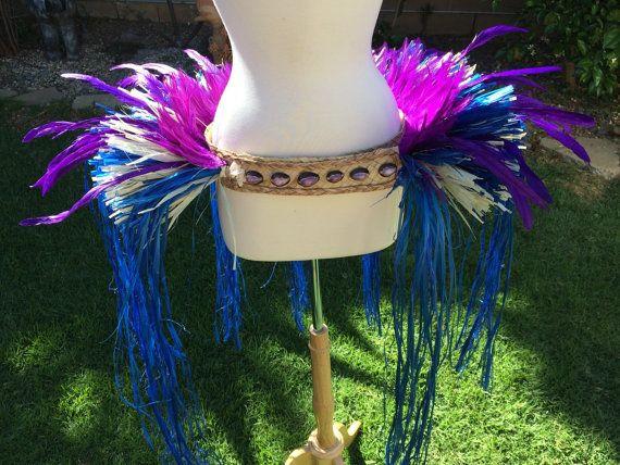 Purple and blue hip hei by ISLANDMANA on Etsy