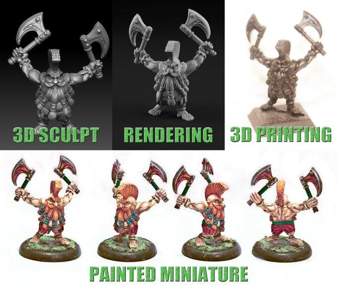 I've never been much of a sports fan, so I don't quite know how fantasy football leagues work. What I do know, however, is that 3D printing technology is the pe