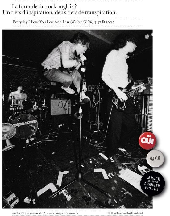 """OUÏ FM - Kaiser Chiefs """"La formule du rock anglais ? Un tiers d'inspiration, deux tiers de transpiration."""""""
