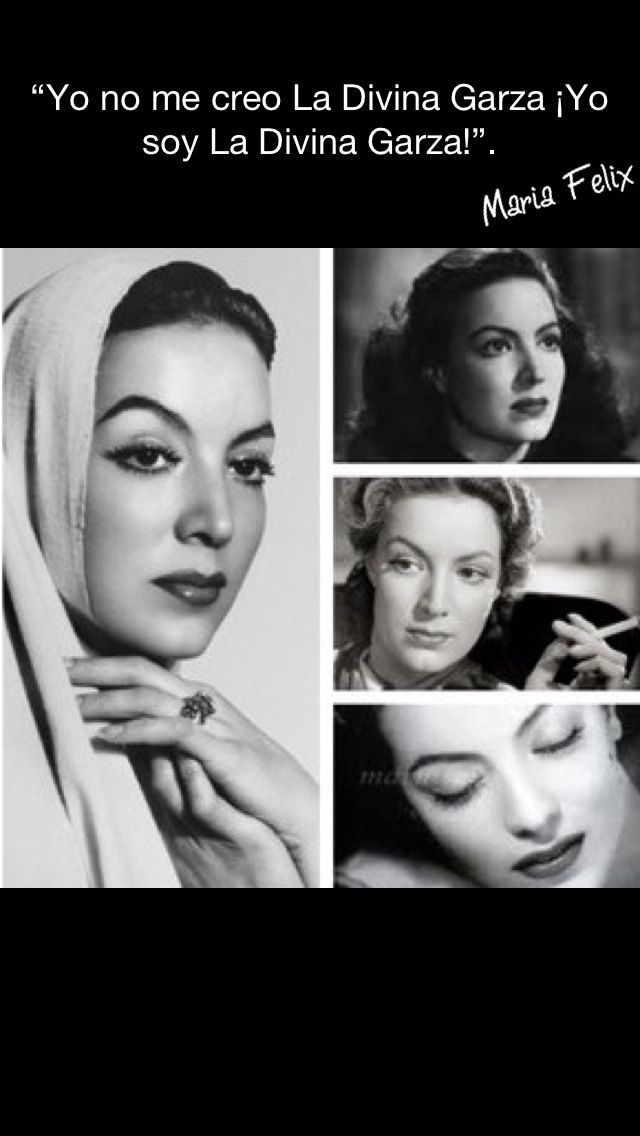 Maria Felix reminds me of my grandmother... Attitude, class and beauty! @Janneth Rodriguez aguilar