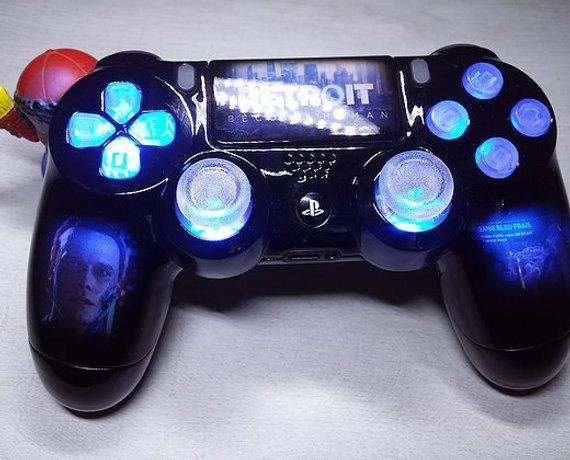 custom controller playstation 4 sony new Detroit become ...
