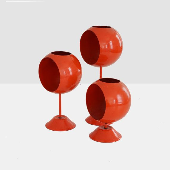 modern candleholders midcentury modern by homeandhomme on Etsy