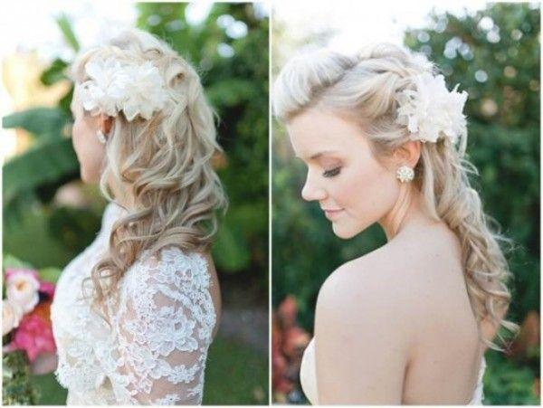 As noivas contam com muitas opções de penteados para 2015. (Foto: Divulgação)