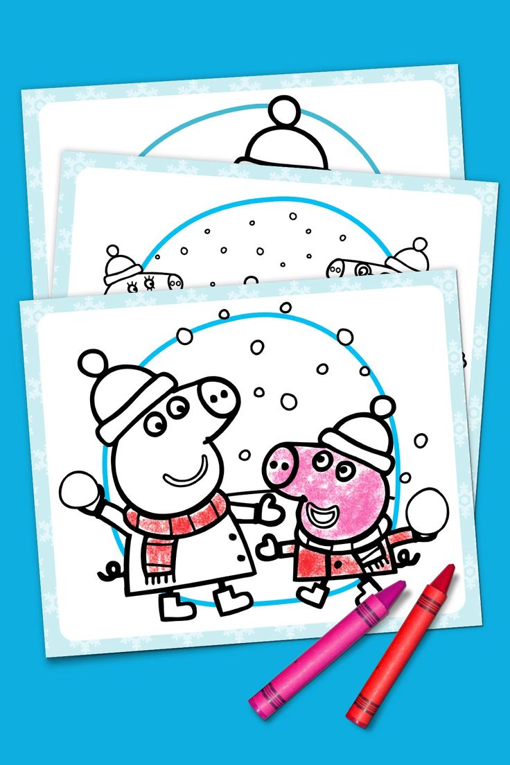Ni nick jr games and coloring on online - Peppa Pig S Winter Wonderland Nick Jrcoloring