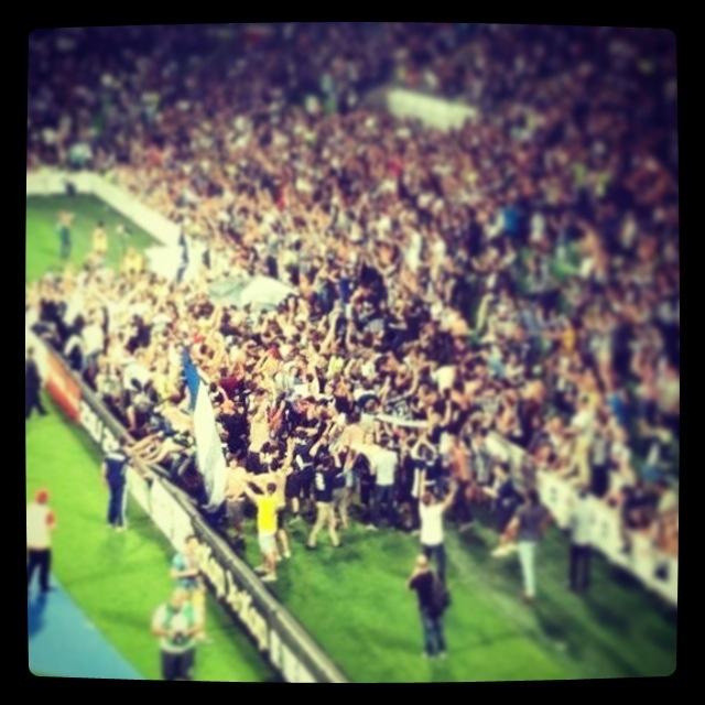 Victory raid feild after derby!