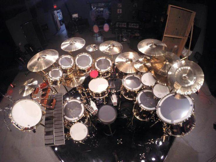Neil Peart Drum Set Wallpaper