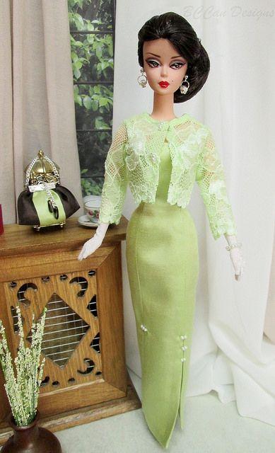 BCCan Designs commission for Barbie Vintage & Silkstone 22… | Flickr - Photo…