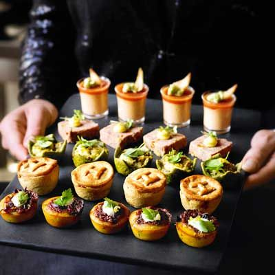 Heston's Party Food - Finishing touches