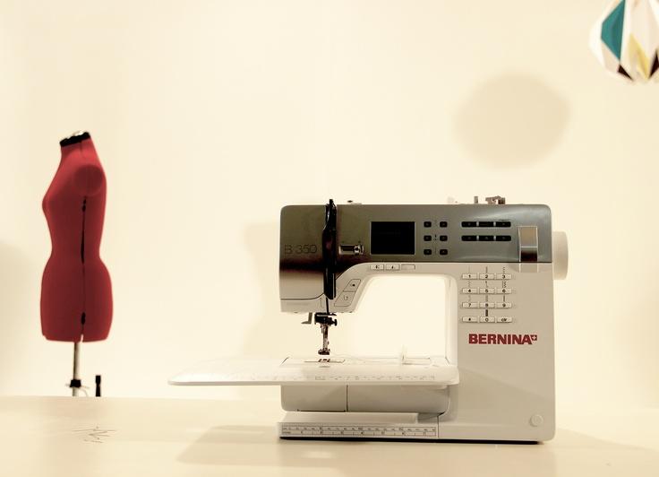 La machine à coudre Bernina qui nous a accompagné pour la production des videos des deux  ebooks citronours.
