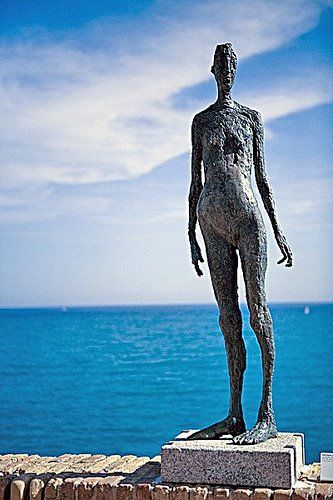 Picasso Art Work located at the Picasso Museum in Antibes, France