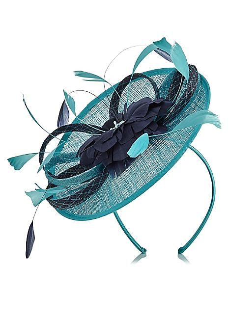 Jacques Vert Loop Flower Disc Fascinator #kaleidoscope #wedding #weddingguest
