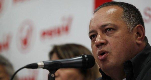 """¡AMENAZAS DE UN ASESINO! Cabello: Quien traicione será tratado como """"enemigo de la patria"""""""