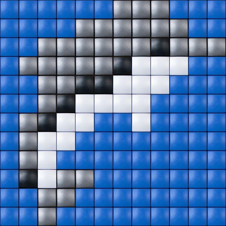 #pixelhobby #pixelen #hobby #creatief #dolfijn
