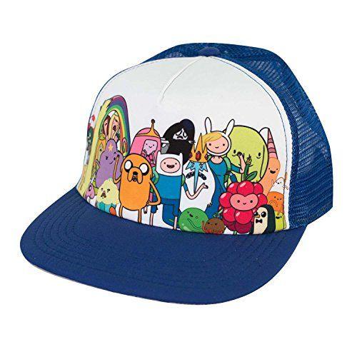 Adventure Time Sublimation Trucker Hat @ niftywarehouse.com #NiftyWarehouse #AdventureTime #TVShow #Cartoon #Show #CartoonNetwork