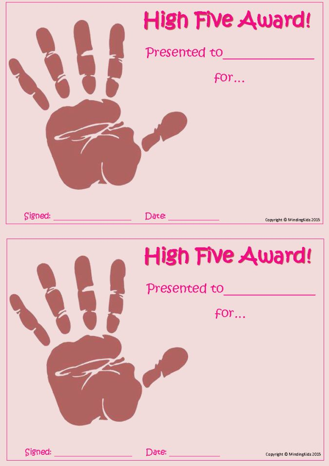 Image result for high five template