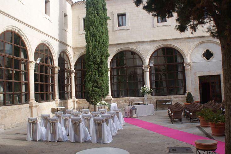 #Parador de #Cuenca #ceremonia #civil #bodas con encanto