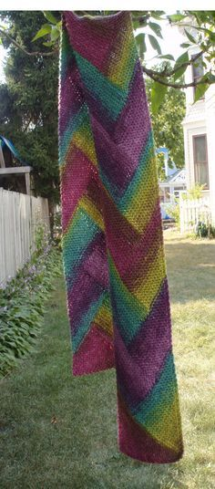 Pioneer Braid scarf