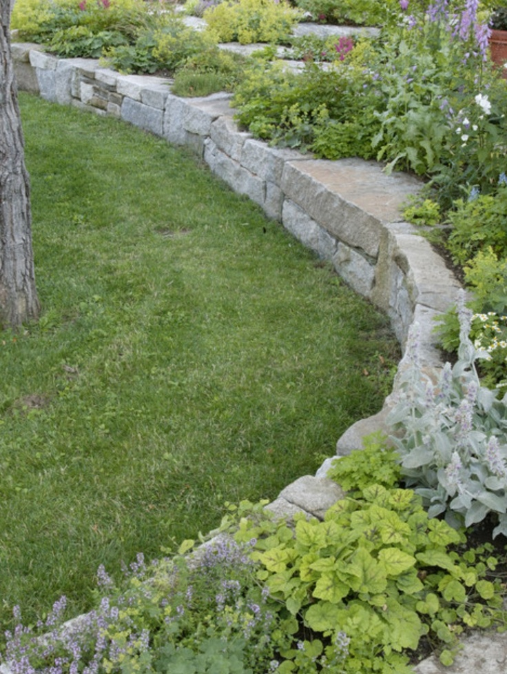 17 best images about landscaping for dallas ft worth on for Flower bed wall designs