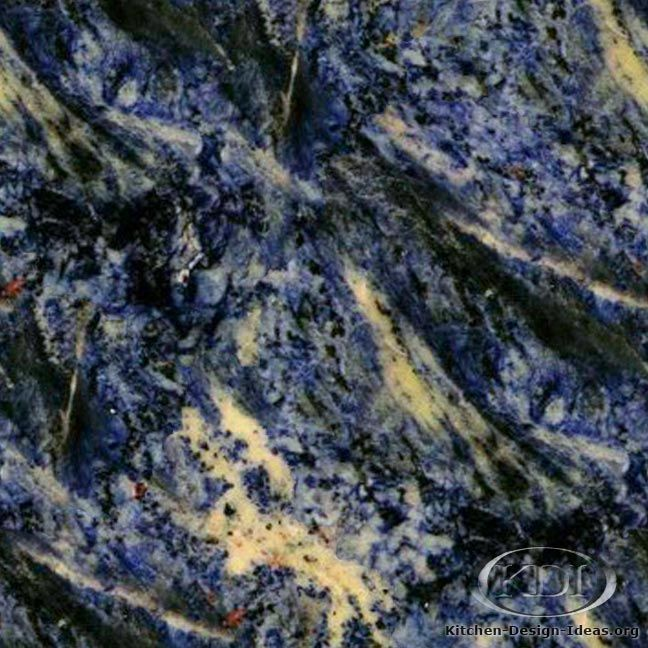 Blue Sodalite Granite Is A Natural Stone That Could Be Used For Kitchen  Countertop Surfaces.