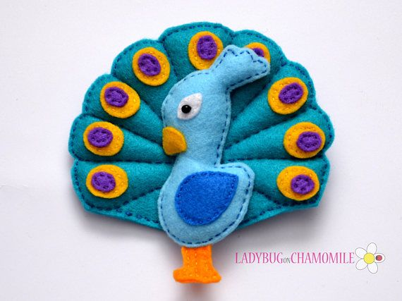 Vögel-Filz-Magnete Preis pro 1 Stück machen Ihren eigenen