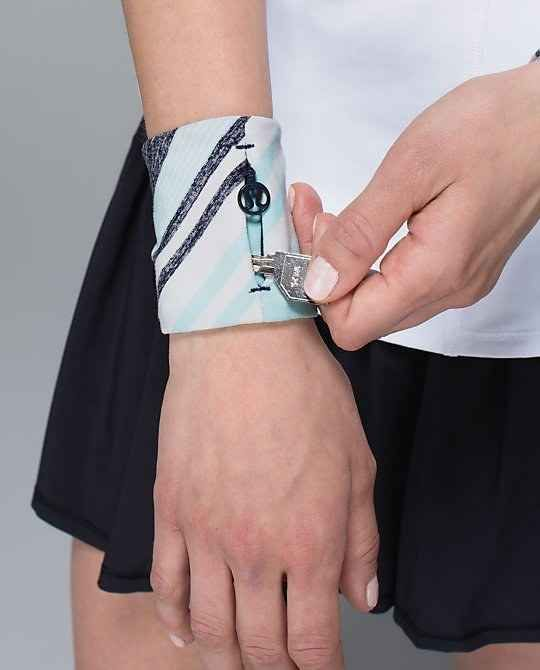Lululemon Key Holder Wristband, $18