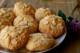 Receitas para a Felicidade!: Cookies de Amêndoa e Canela