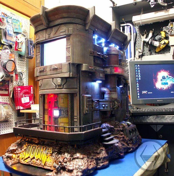 The Coolest Doom PC Mod Case  1 of 3