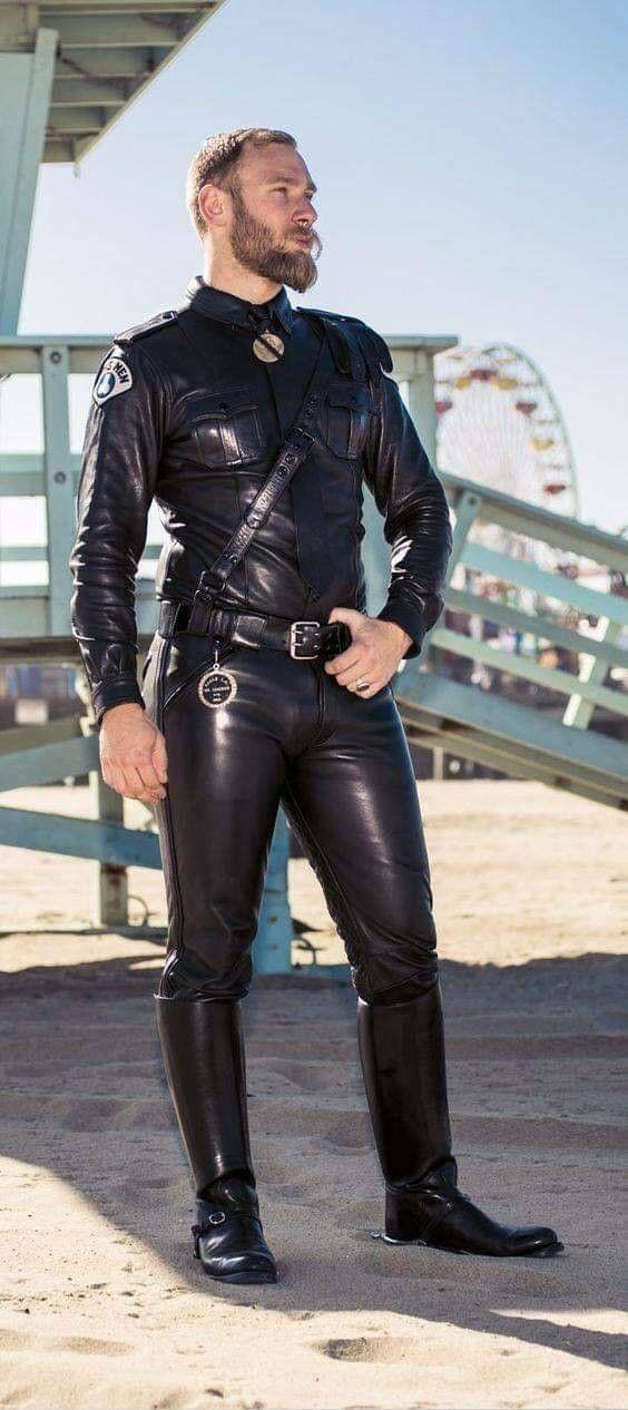 Happy Thanksgiving, Guys Gaybiker Leather Leathergay Gayleather Scruff Instagay Gaysofinst