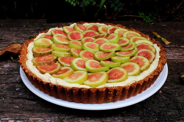 fig, honey and mascarpone tart | Eat me... | Pinterest