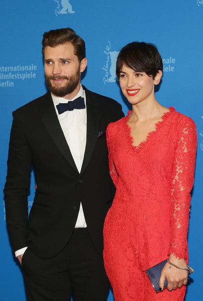 Amelia Warner Photos - Actor Jamie Dornan and wife Amelia Warner attend the 'Fifty Shades of Grey' premiere during the 65th Berlinale International Film Festival at Zoo Palast on February 11, 2015 in Berlin, Germany. - 'Fifty Shades of Grey' Premiere - 65th Berlinale International Film Festival