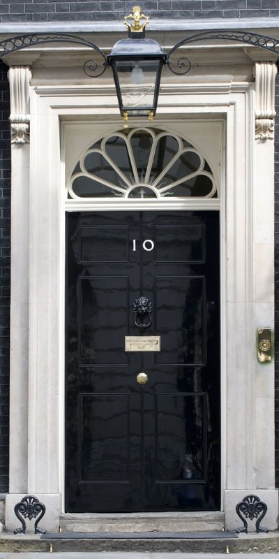black door 10 downing street london real door hardware