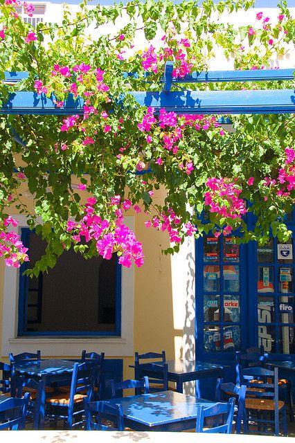 Tavern in Karpathos Island,  Greece