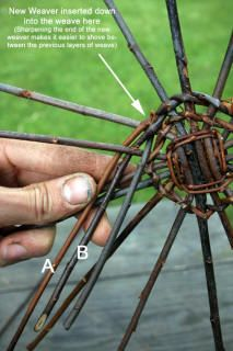 Weaving a wicker basket; the most comprehensive basket tutorial on the internet