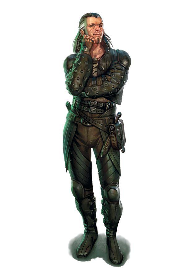 Fantasy rogue armor