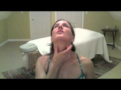 Stretches for neck and shoulder tension and pain, jaw pain, headaches