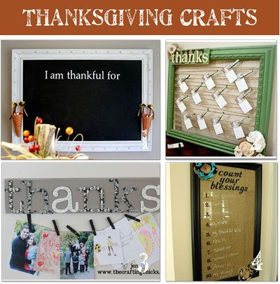 20 Thanksgiving Crafts