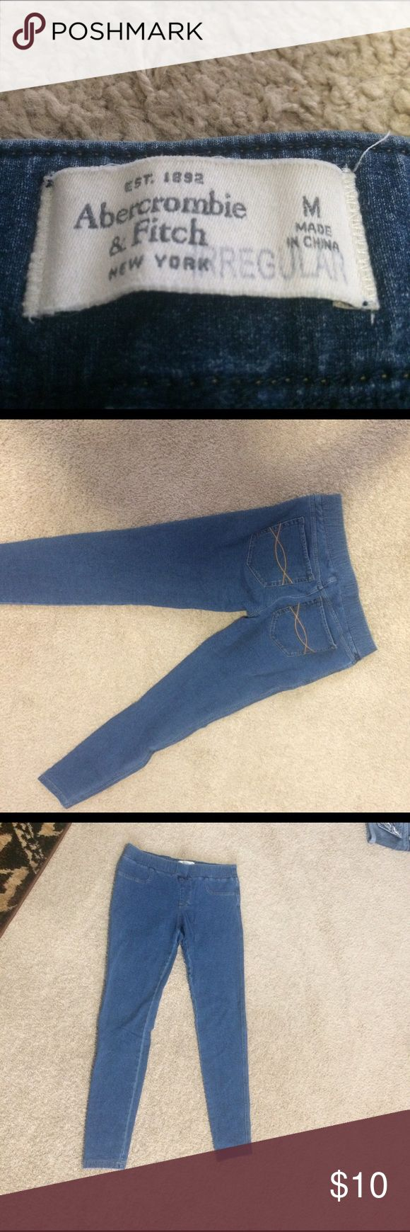 Abercrombie and Fitch leggings Abercrombie and Fitch jeans 👖 style leggings Abercrombie & Fitch Pants Leggings
