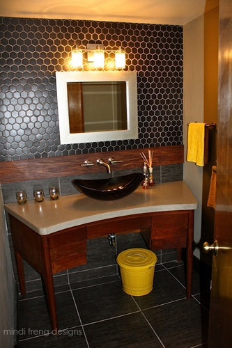 Bathroom Vanities Made From Furniture 21 best dresser into bathroom vanity images on pinterest