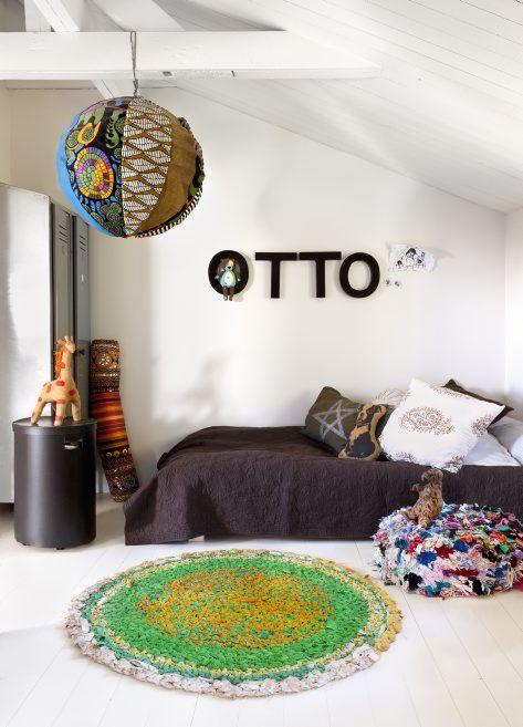 Otto is one lucky guy! His mom made him this lovely room....  Styling Marie Olsson Nylander Photo Sara Svenningrud