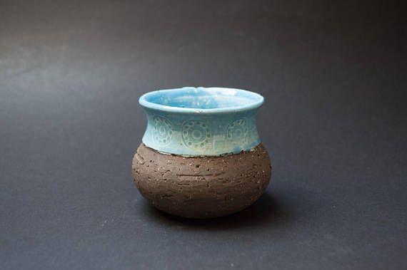 Vintage Jie Gantofta jam pot Anita Nylund design Honey pot Sugar bowl Swedish pottery Scandinavian design Rustic decor Serving dish