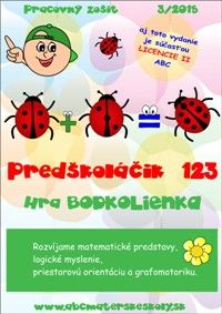 hra bodkolienka - matematika, logika a grafomotorika predškoláka