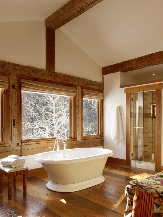 Rustic Charm Decorating My House O Dreams Pinterest Mountain Homes Bathroom And Wood Detail