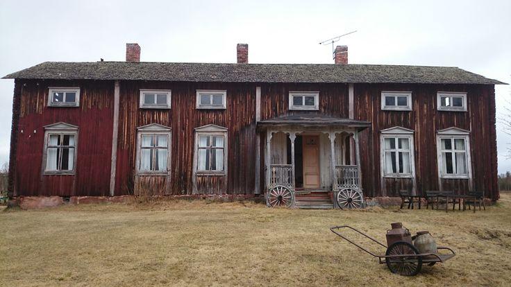 Gården där filmen Jägarna spelades in.