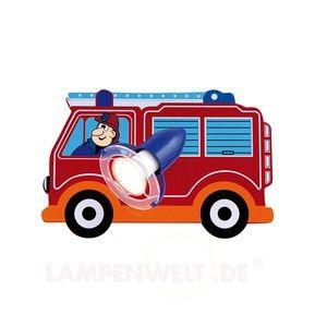 Feuerwehr 1-flammig - diese und noch viele ander schöne Kinderzimmerleuchten gibt es bei IhrStrom - Leuchtenshop von Elektrotechnik Ludwig Weingärtner und seinem Team. Wir beraten sie gerne! Wir installieren gerne Ihre neue Leuchte in Odelzhausen, Wiedenzhausen, Sulzemoos, Pfaffenhofen a.d. Glonn, Egenburg, Eurasburg, Sittenbach, Sixtnitgern, Einsbach, im gesamten Landkreis Dachau und Fürstenfeldbruck, sowie im Großraum von München und Augsburg!