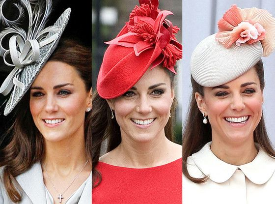 I like how she reminds us of Black women in church on Sunday...Every fascinator Kate Middleton has ever worn.