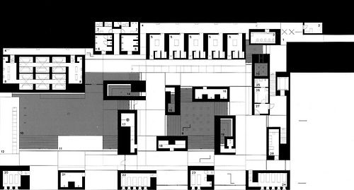 arkiiv:  peter zumthor  therme vals plan