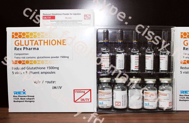 1500mg Glutathione for injection package: 5vials+5ampoules/tray/box shlef life: 36months