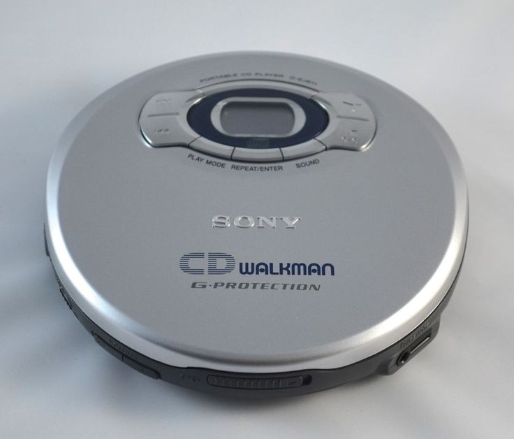 Sony Walkman G Protection Unit D Ej611 Portable Cd Player